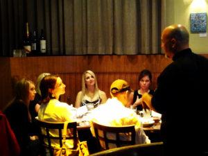Chef Beau teaching