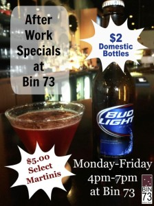 Happy Hour Flyer $2 Beer