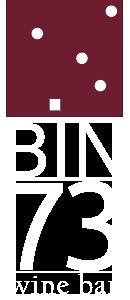 BIN 73 wine bar Logo